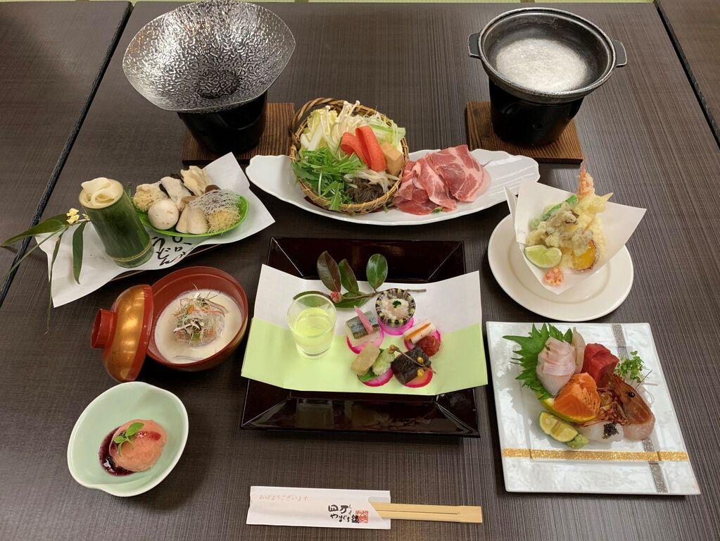 〜大和豚のすき焼きと地元グルメ会席〜
