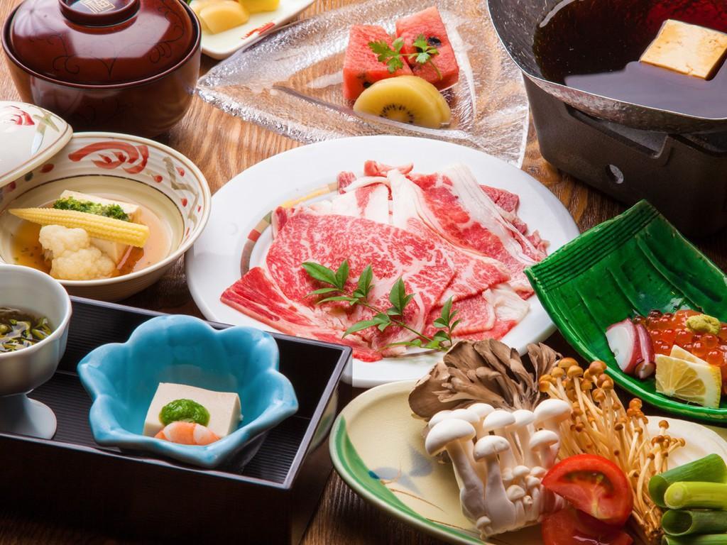 〜特選牛トマトすき焼き御膳〜