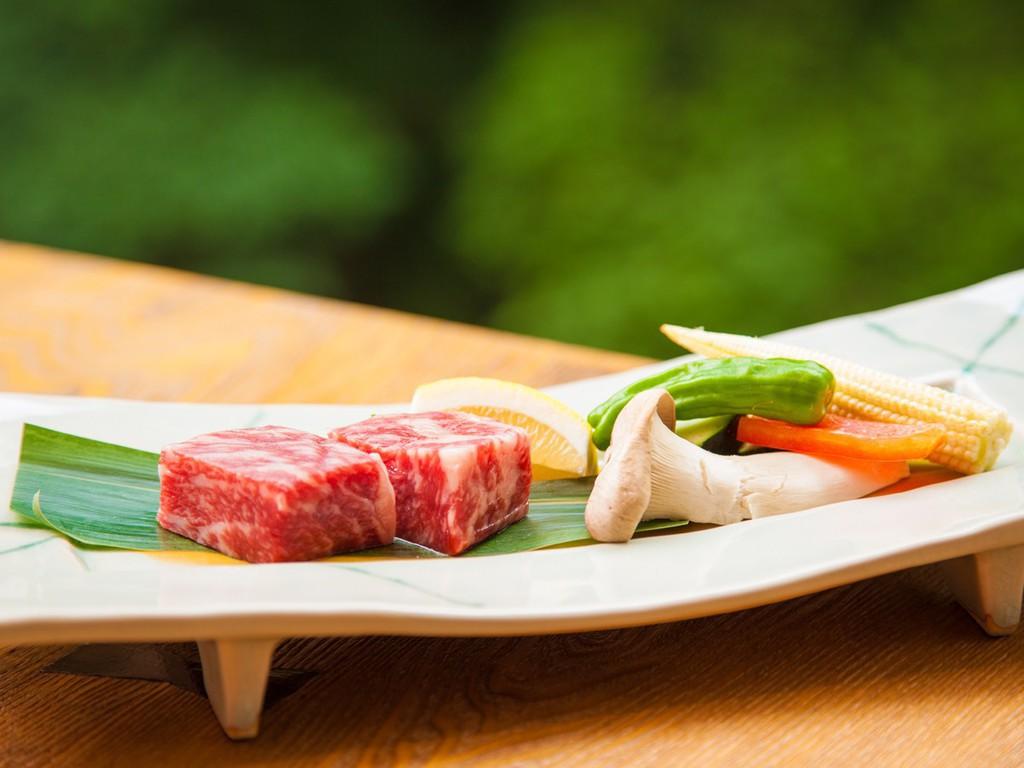 〜上州牛のステーキ〜