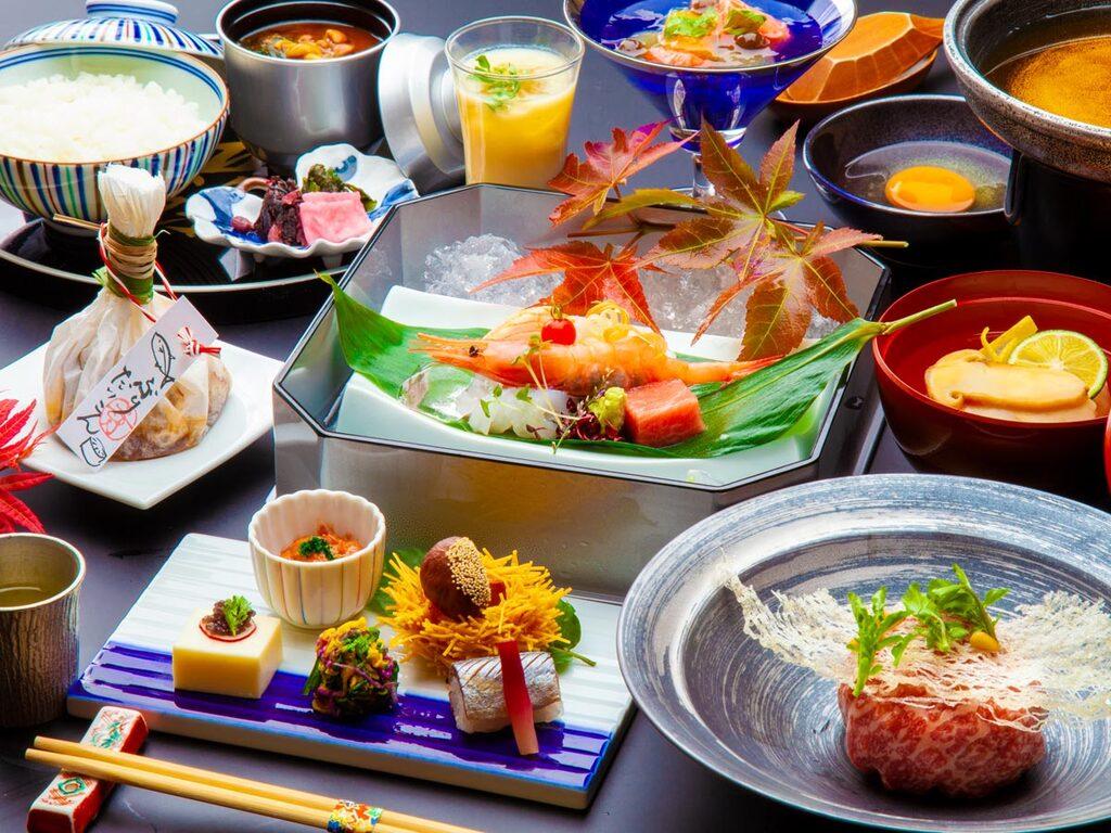 〜上州牛包みすき焼きと群馬野菜会席〜