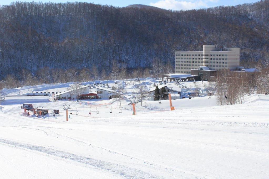 冬スキー場ホテル