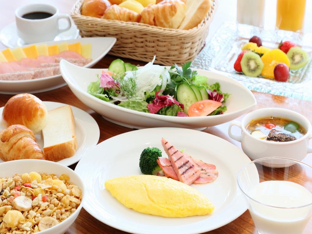 北海道産食材がたっぷり!北の彩り朝食ビュッフェ