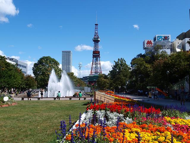 ビジネス・レジャーの中心地「大通公園」や「札幌駅」へも地下鉄1本の好アクセス!
