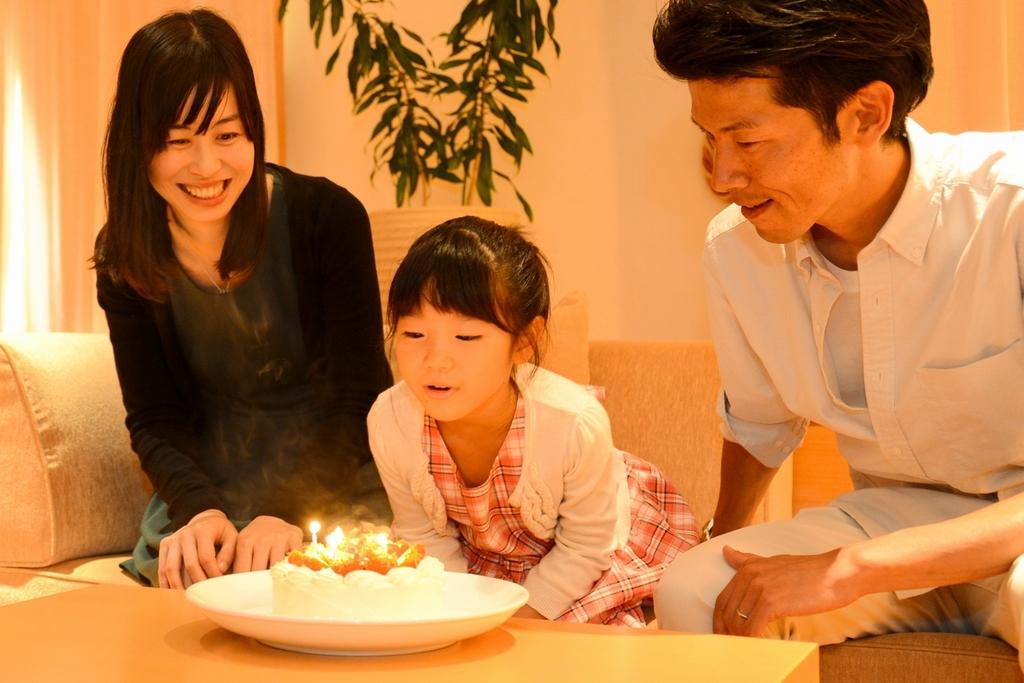 家族で記念日♪