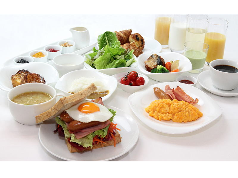 「おいしさ手作り朝ごはん」ではお好きにアレンジしてお楽しみください