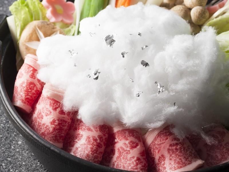 白雪鍋/牛すき焼き
