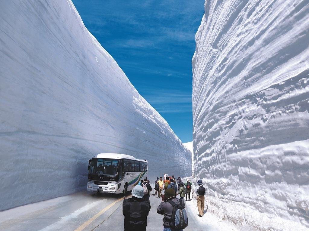 4月15日から6月22日までは≪雪の大谷ウォーク≫も!