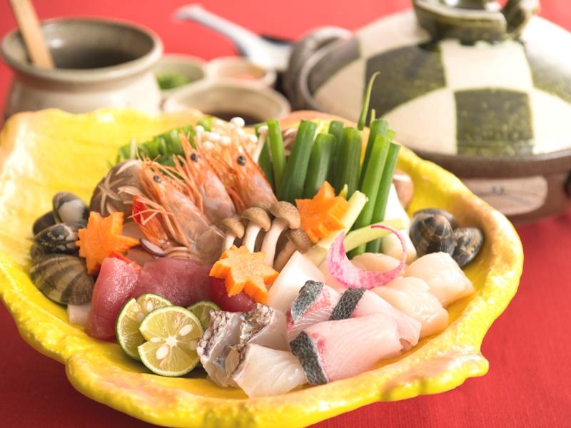 魚介の出汁がたまらない海鮮鍋♪