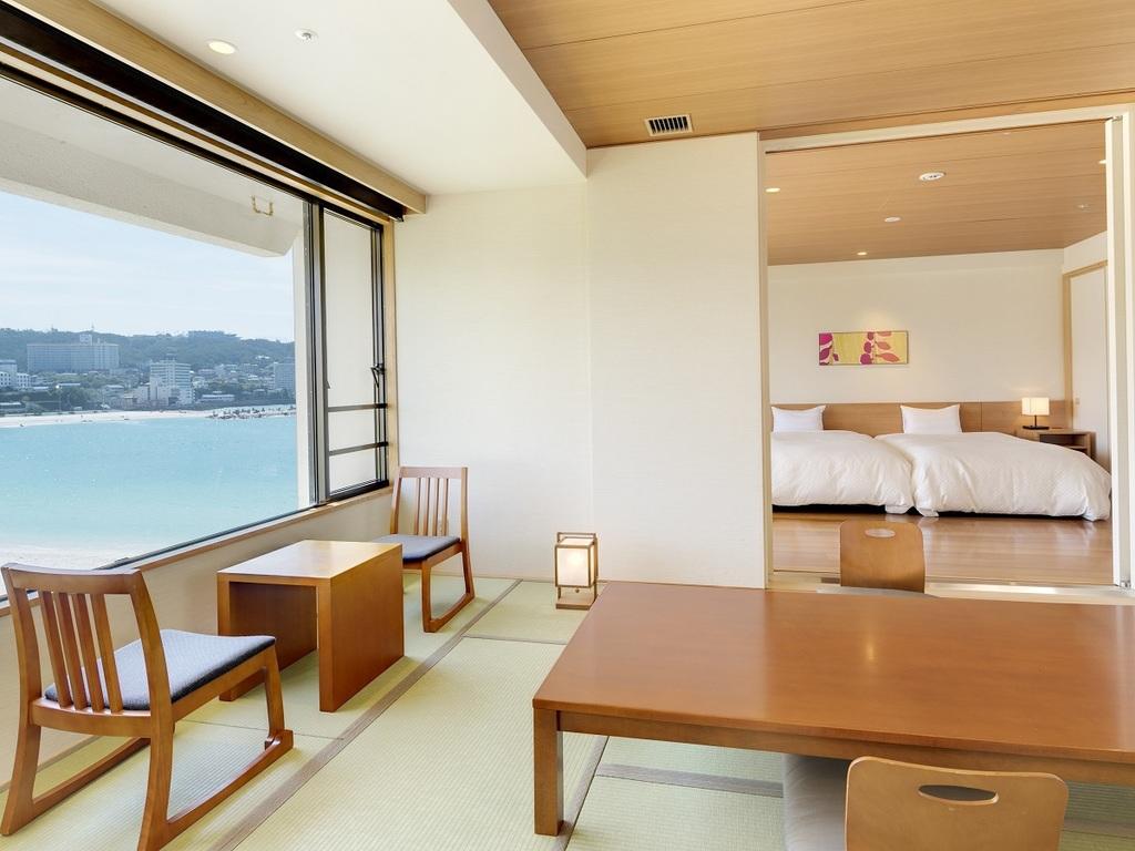 【和+洋】コネクティング客室の例