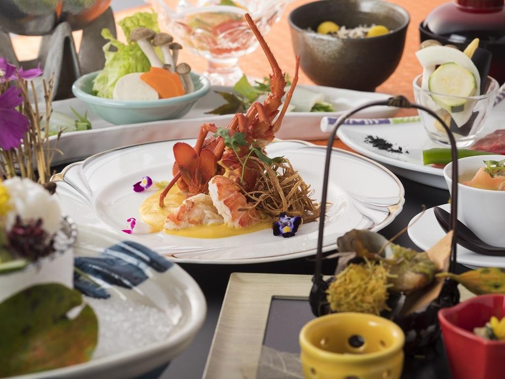 伊勢海老に紀州の魚、季節を彩る旬菜