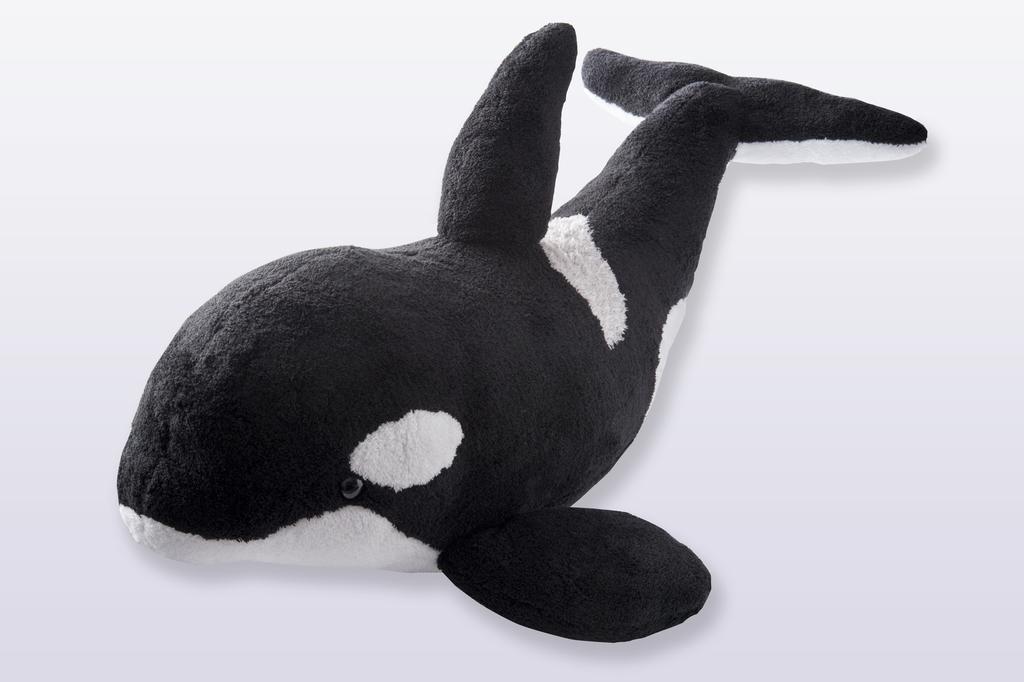 海の王者シャチ(80cm)ぬいぐるみ