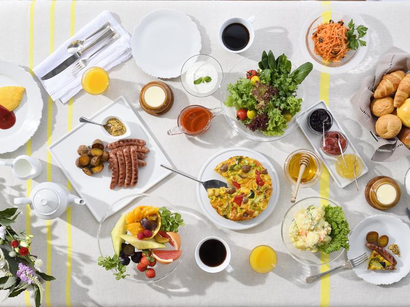 ごちそう野菜の朝ごはん