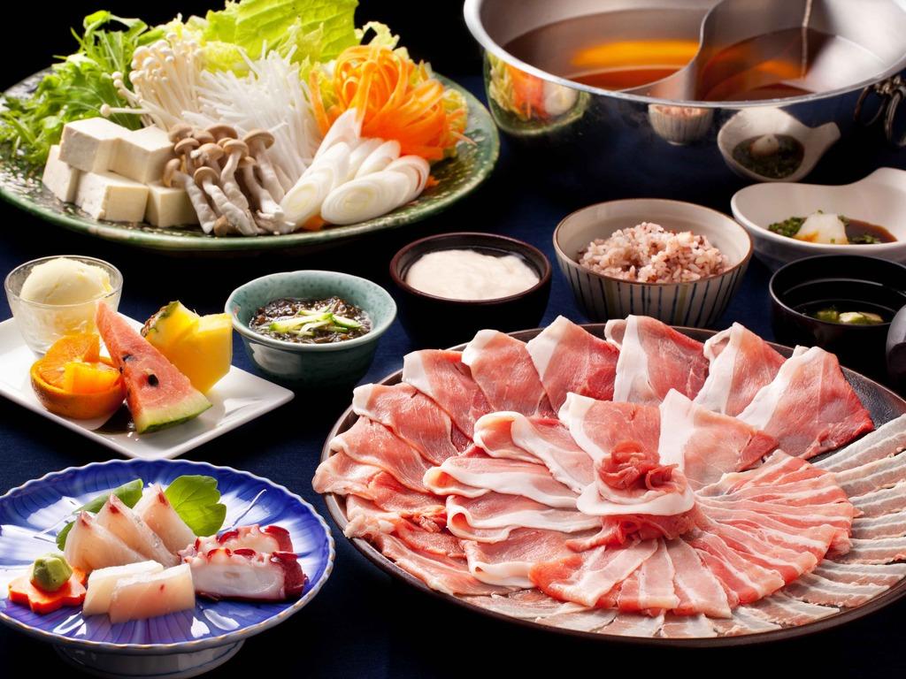Aguu pork shabu shabu  Dinner Course