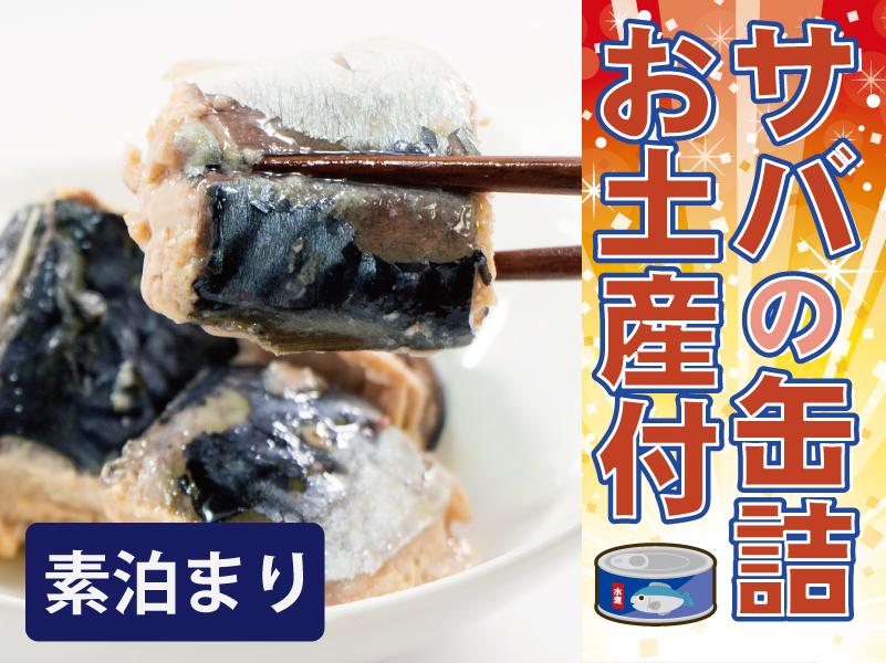 【サバの缶詰お土産付】素泊り(食事なし)