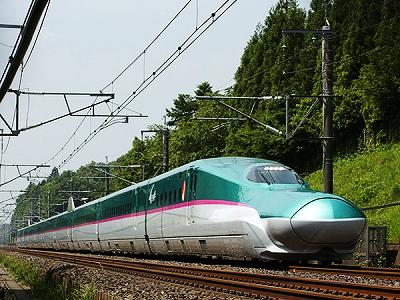 東北新幹線<はやぶさ>