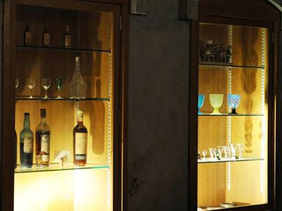 サドヤ醸造場 ディスプレイ