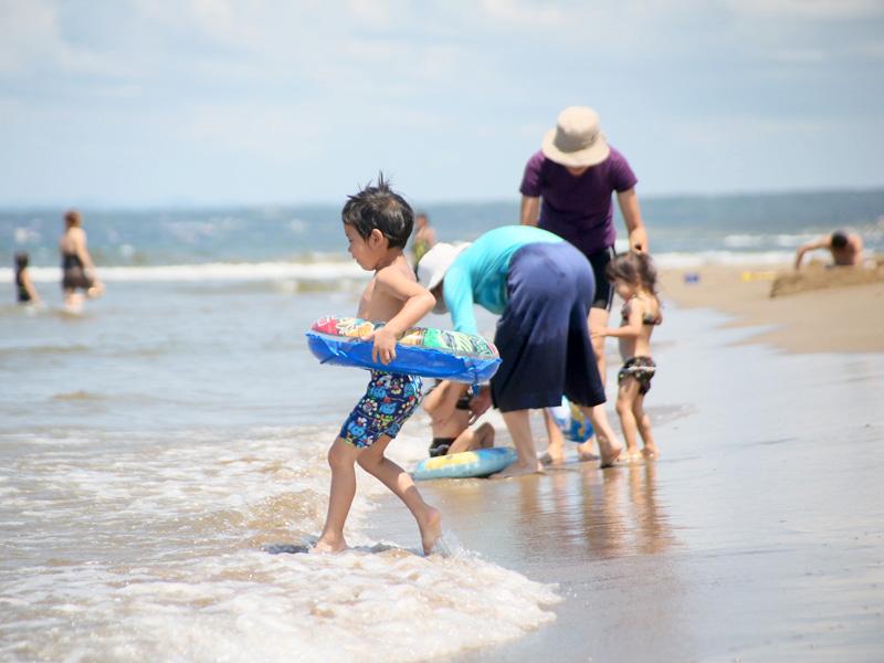 千里浜海水浴場イメージ(写真提供:宝達志水町)