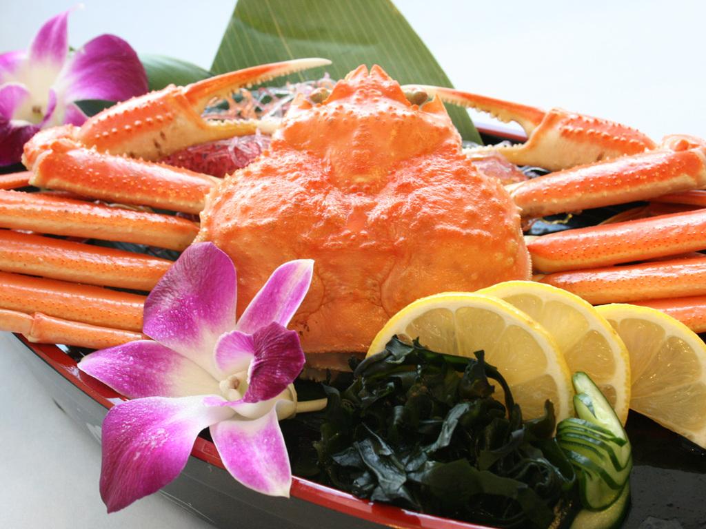 ずわい蟹まるごと一杯!