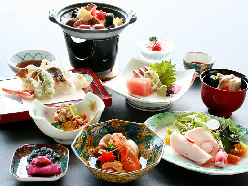 ≪9月〜11月≫季節のスタンダード会席料理「はまゆう」