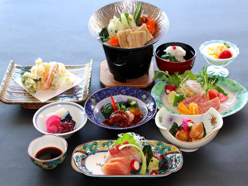 ≪6月〜8月≫季節のスタンダード会席料理「はまゆう」