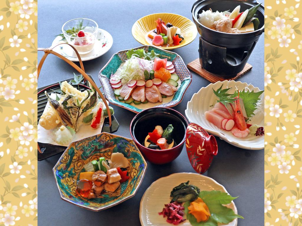 ≪10月〜2月≫季節のスタンダード会席料理「はまゆう」