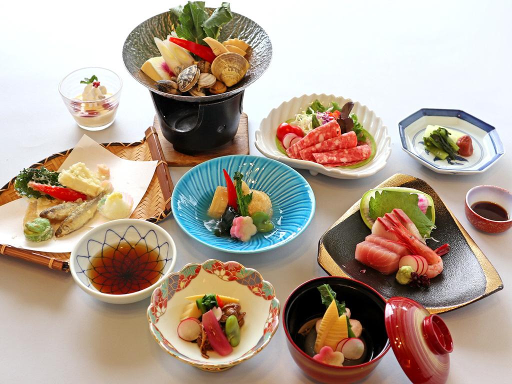 ≪3月〜5月≫季節のスタンダード会席料理「はまゆう」