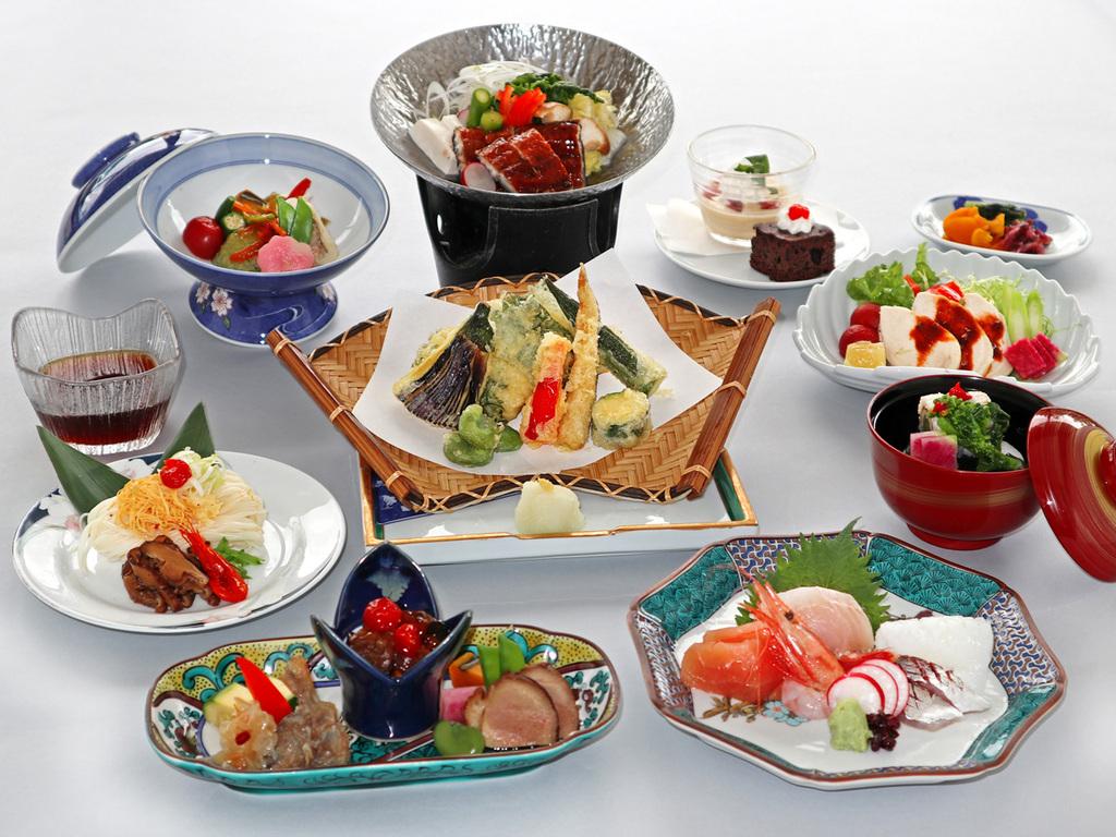 ≪7月〜8月≫ワンランクアップの季節の会席料理「なでしこ」