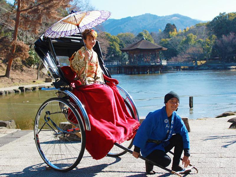 観光人力車「やまと屋」コラボ企画〜古都奈良を人力車で巡ろう〜