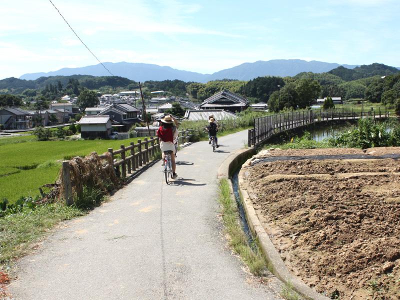 <サイクリングコース>レンタサイクルで季節の風を肌で感じてみてがいかがでしょうか♪