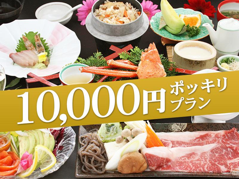 10,000円ポッキリプラン!