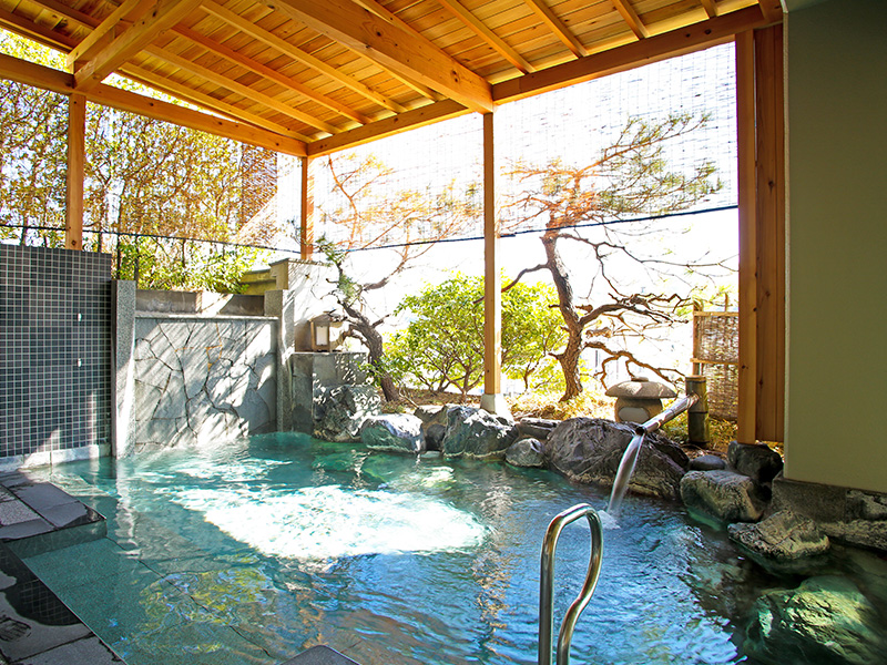 大浴場・湯源郷露天風呂「昇陽」