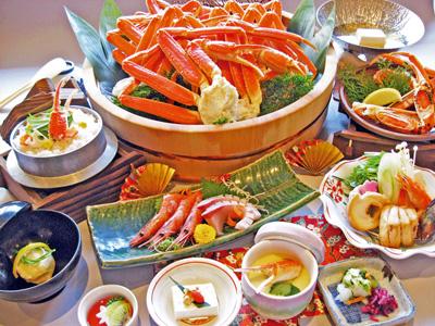 蟹食べ放題会席(イメージ)