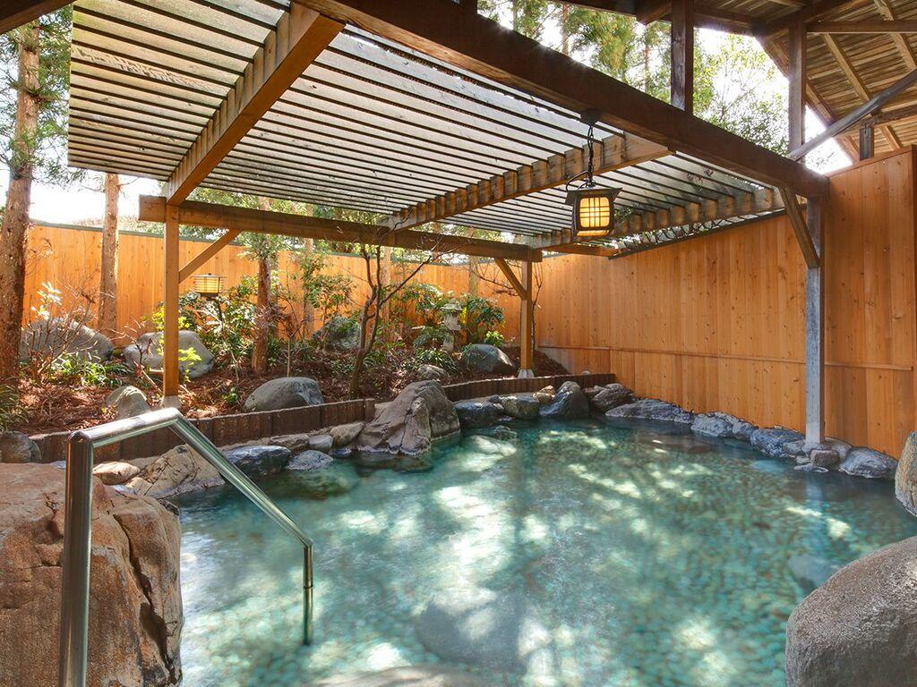 露天風呂 天然温泉