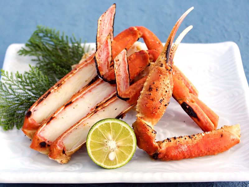 <海>焼き蟹