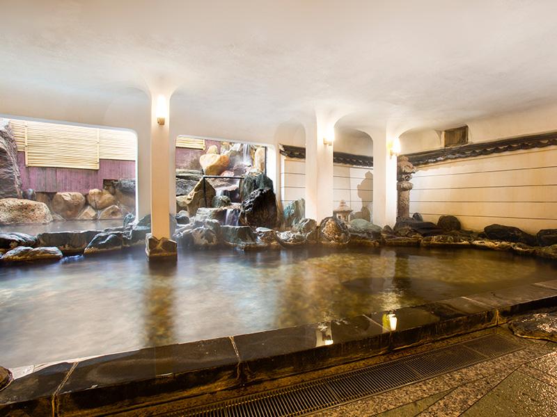 大浴場 「瑠璃」