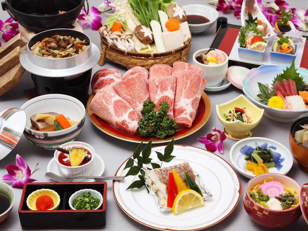満足三昧懐石料理(イメージ)