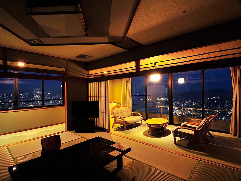 角部屋 特別和室(12.5畳+6畳+広縁+バルコニー)