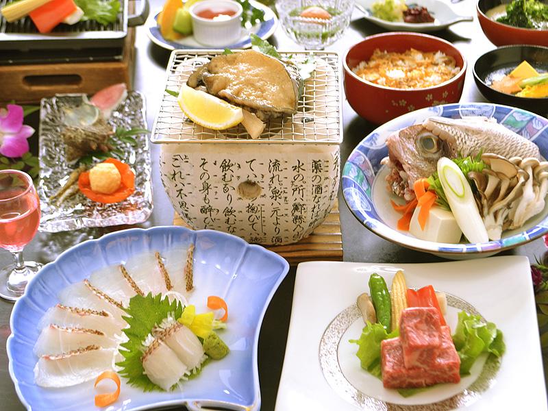 山海食べ比べ(椿)