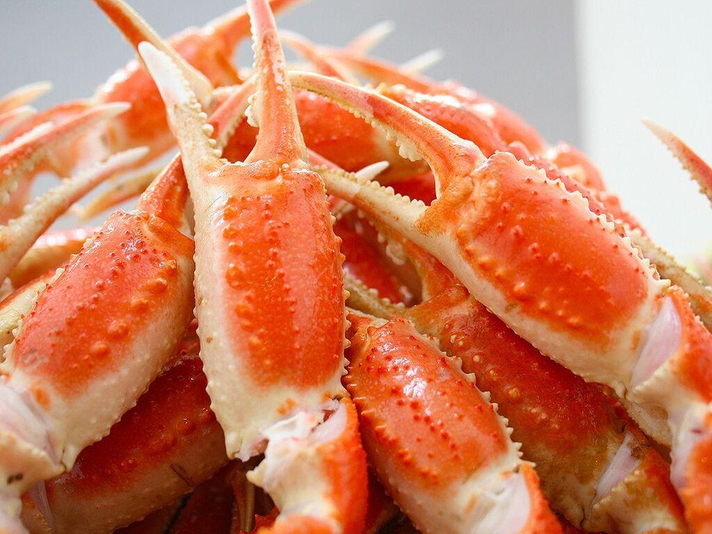 【夕食バイキング 一例】ずわい蟹