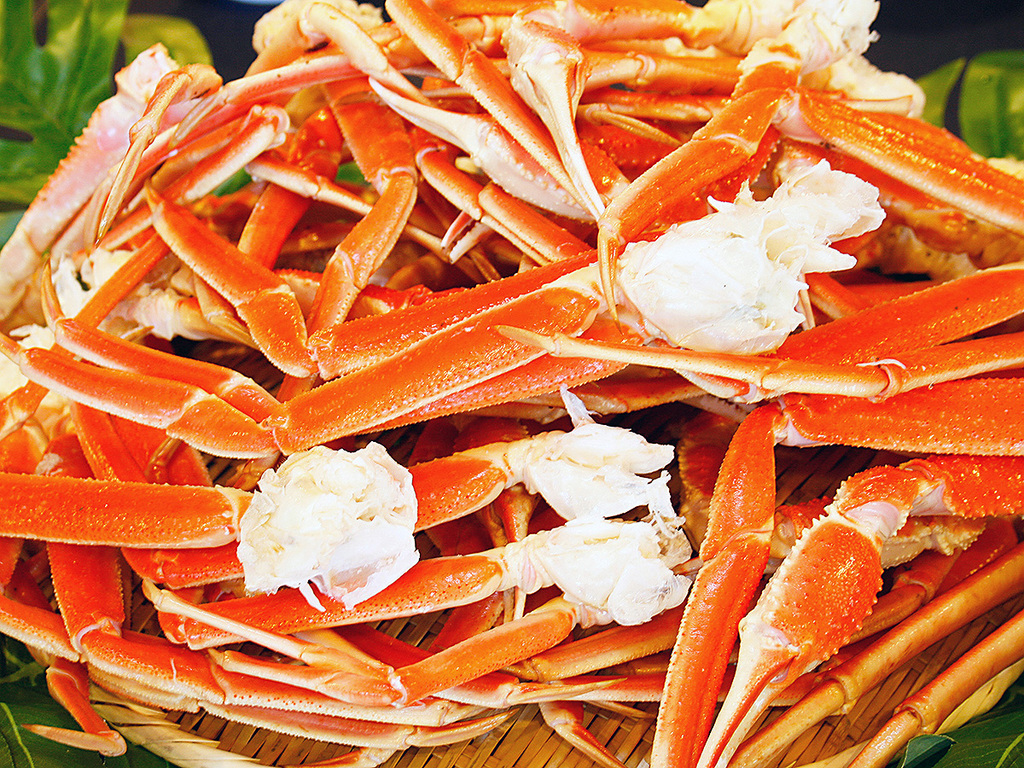 【秋の夕食バイキング 一例】ずわい蟹食べ放題プラン イメージ