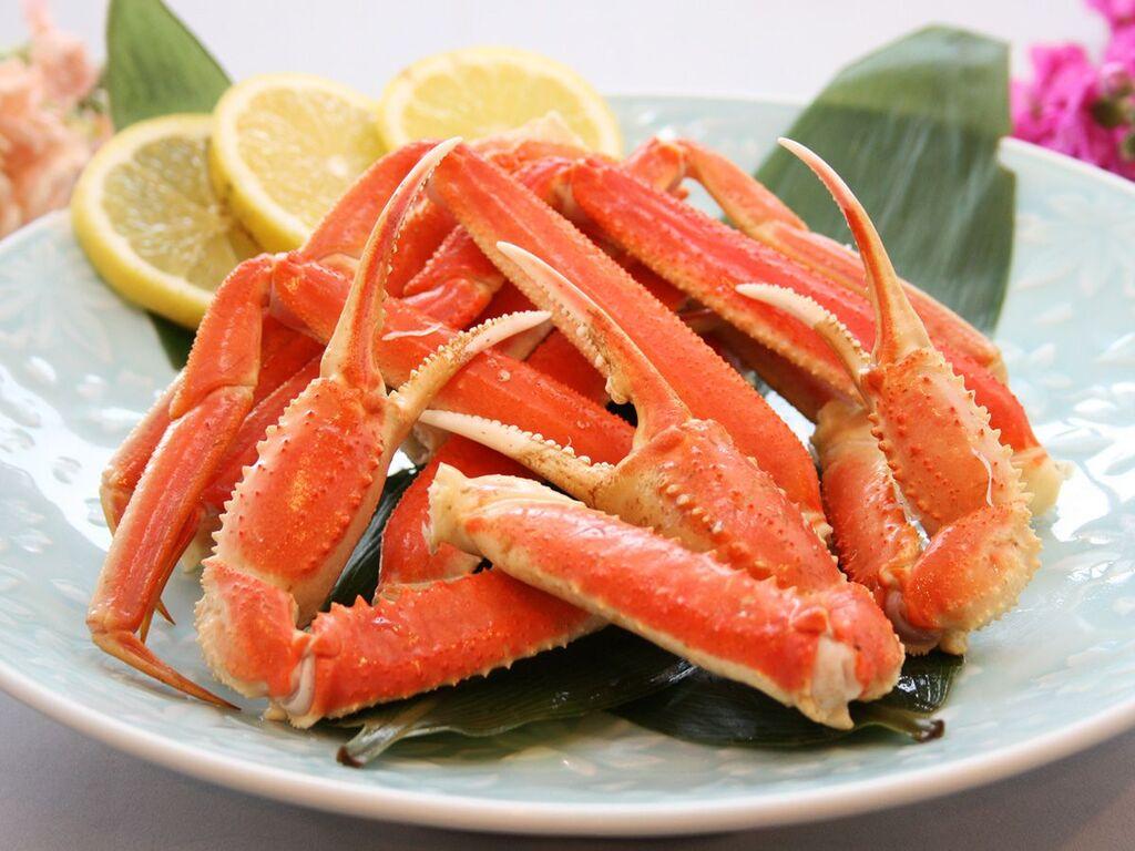 【秋の夕食バイキング 一例】ずわい蟹食べ放題プラン(半肩)イメージ