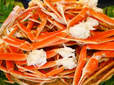 ずわい蟹が90分食べ放題!