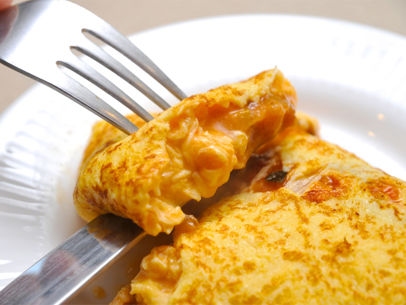 ご朝食≪ふわふわオムレツ≫