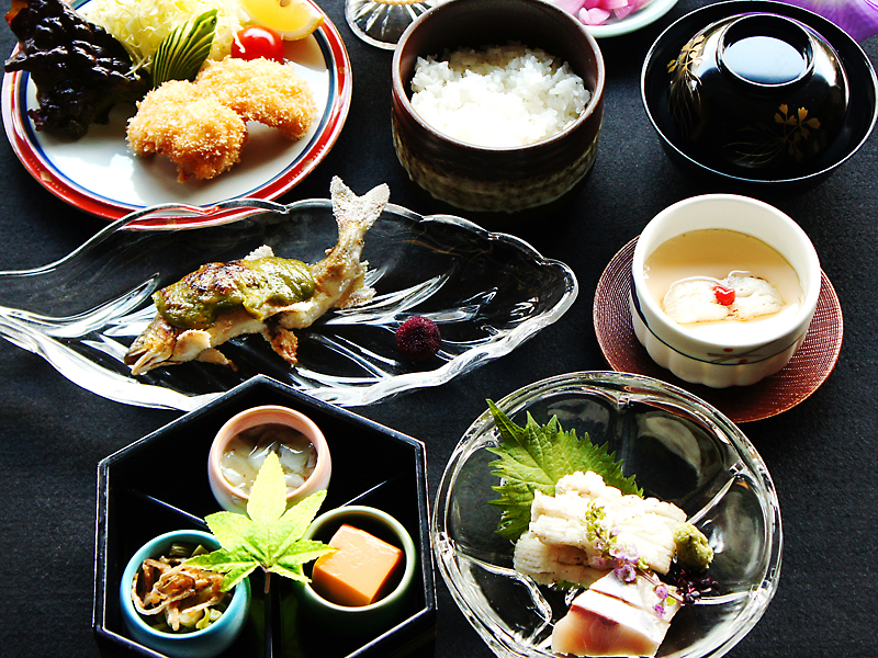 夏の京都会席「和楽」