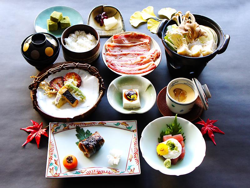 秋の京都会席「和楽」プラン