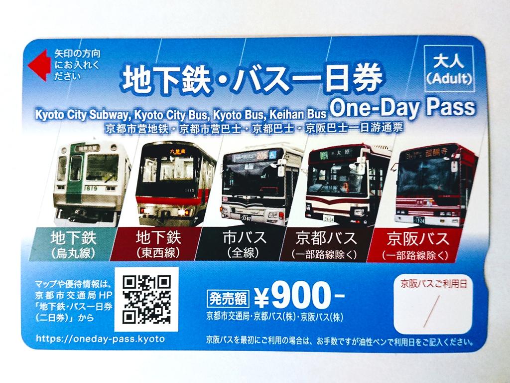 地下鉄・バス一日券付きプラン