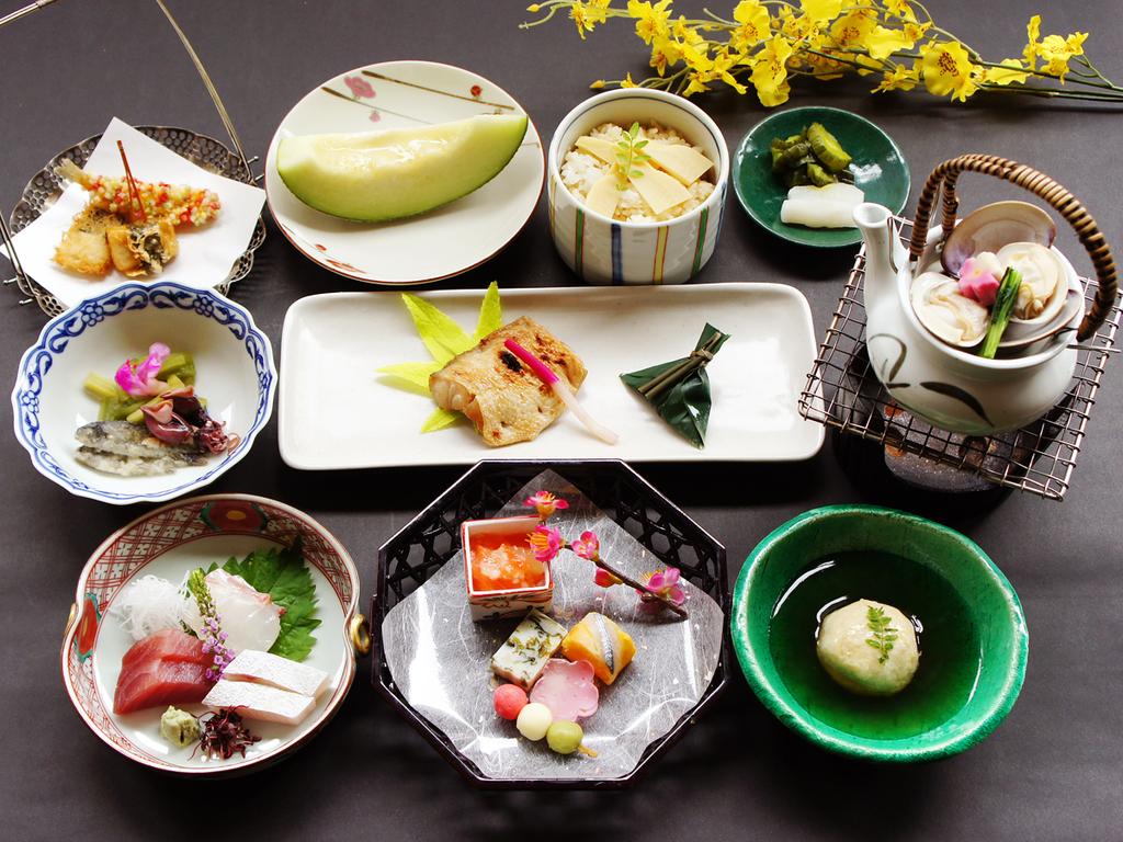 京都特選会席「舞」プラン 3月〜4月