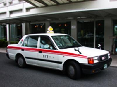 片道タクシーチケット付