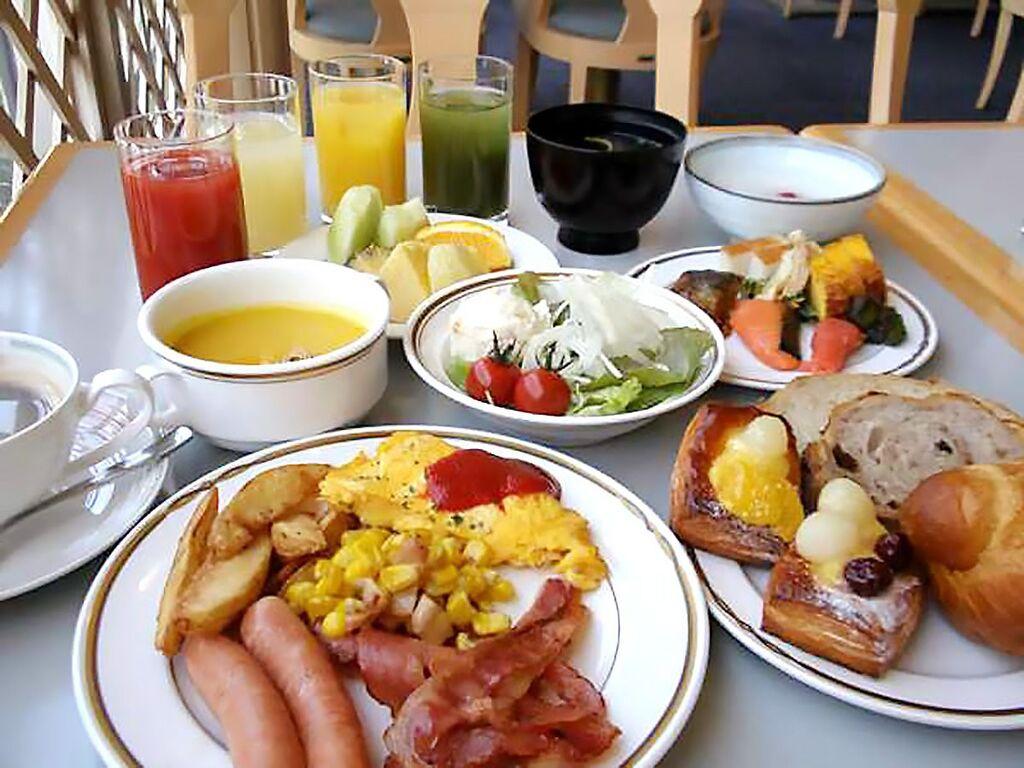 朝食バイキングで楽しむ料理長自慢の美味しい朝食