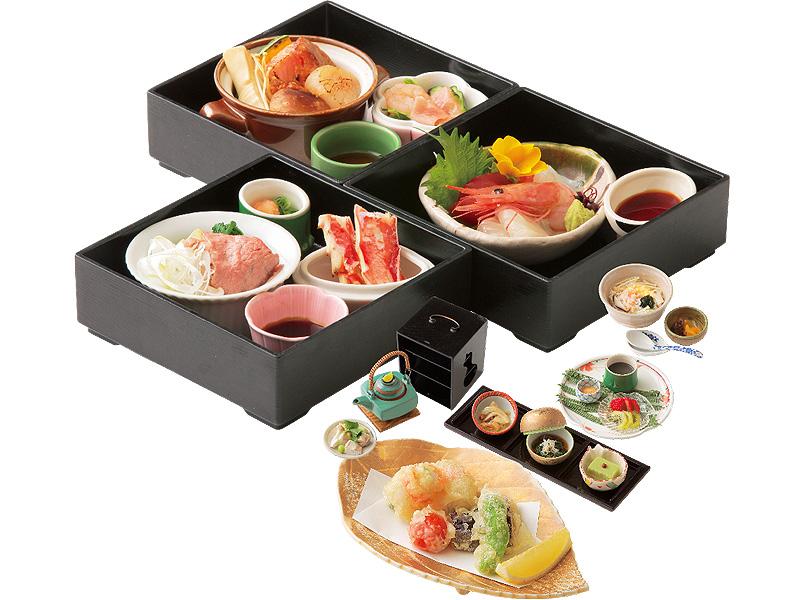 季節の恵みを贅沢に味わう「四季茶箱」